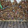 愛が重すぎるため・・・フランスのポンデザール橋の大量の南京錠が撤去される