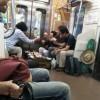 [画像あり]電車にマジキチがいるんだがwwwwwwwwwww
