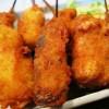 [画像あり]大阪の串かつ定食500円(ライスおかわり自由)が豪華すぎるwwwwwwwwwwwwwwwwww