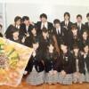 堀越高校芸能科の集合写真、ガチで美男美女ばかり